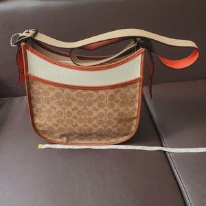 Coach Signature Crossbody Messenger Bag